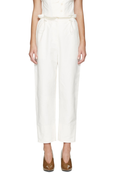 Stella McCartney - Ivory Rhea Trousers