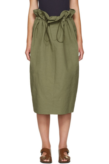 Stella McCartney - Khaki Nyla Skirt