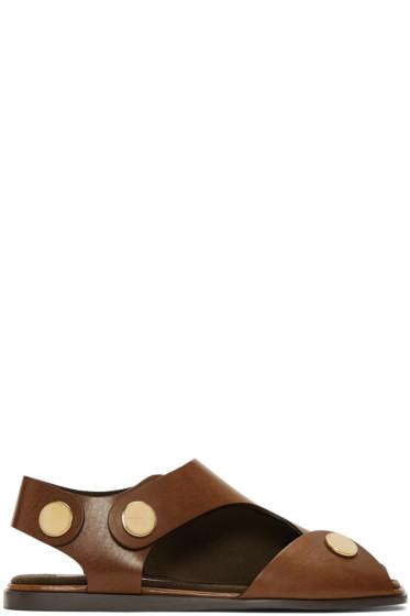 Stella McCartney - Tan Cowper Sandals