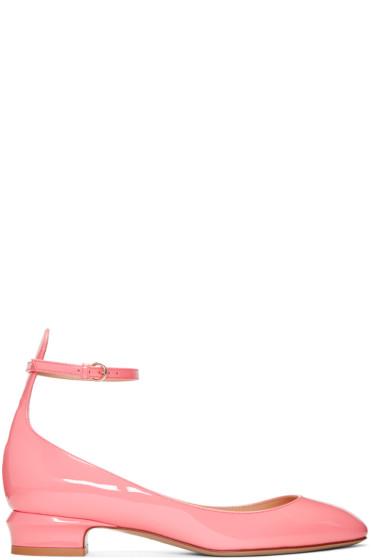 Valentino - Pink Tango Mary Jane Heels