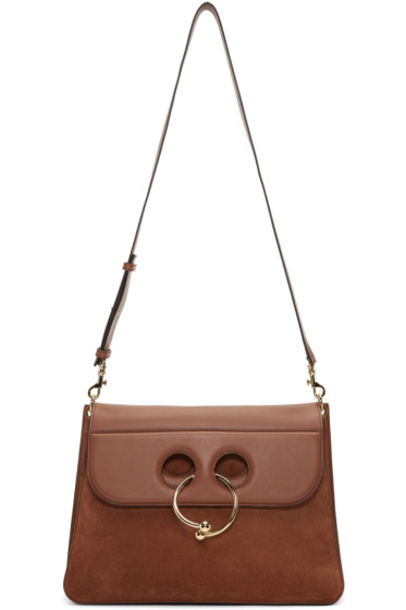 J.W. Anderson - Brown Large Pierce Bag