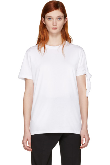 J.W. Anderson - White Single Knot T-Shirt