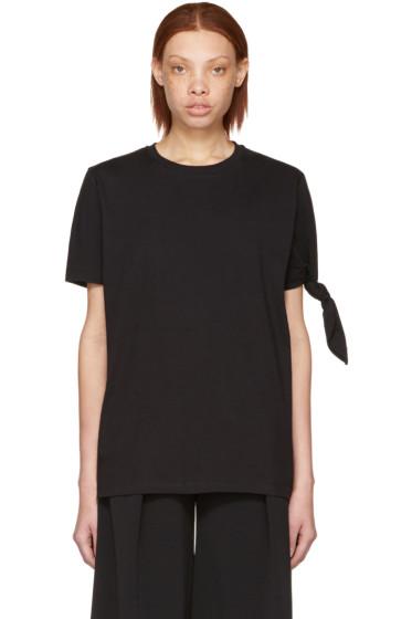 J.W. Anderson - Black Single Knot T-Shirt