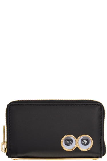 Sophie Hulme - Black Mini Rosebery Coin Pouch