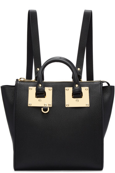 Sophie Hulme - Black Small Holmes Backpack