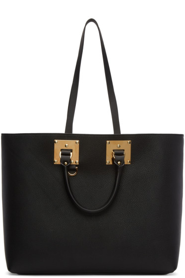 Sophie Hulme - Black Cromwell East West Shopper
