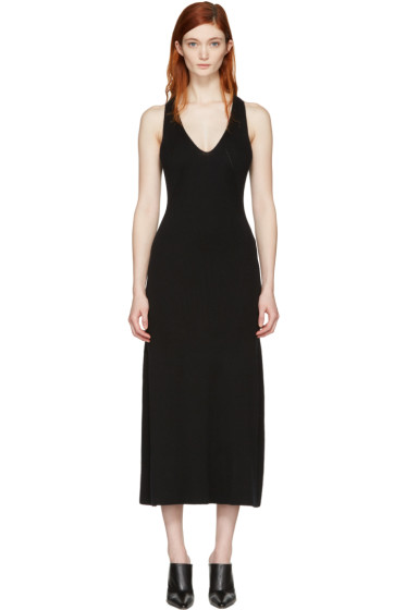 Calvin Klein Collection - Black Knit Escot Dress