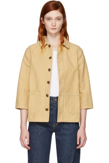 Visvim - Beige Bucky Coverall Jacket