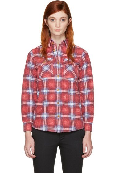 Visvim - Red Check Elk Shirt