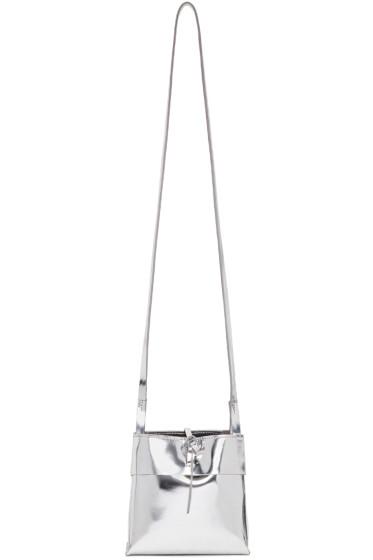 Kara - Silver Small Tie Bag