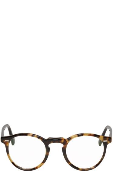 Oliver Peoples - Tortoiseshell Gregory Peck Glasses