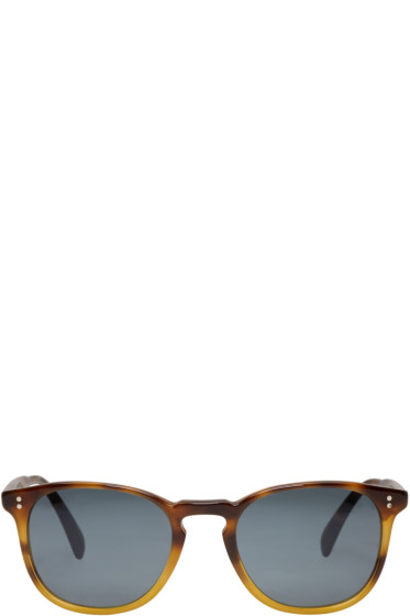 Oliver Peoples - Tortoiseshell Finley Sunglasses