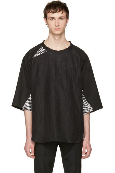 Yang Li - ブラック チュニック ポップ T シャツ