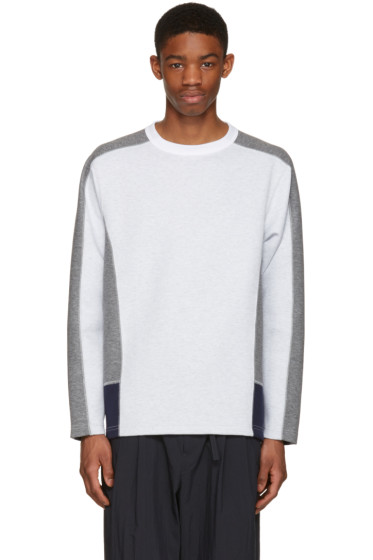 Kolor - Off-White Contrast Pullover