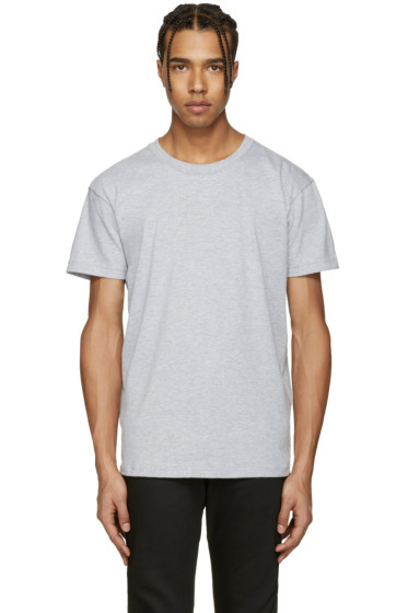 Naked & Famous Denim - Grey Ring-Spun T-Shirt