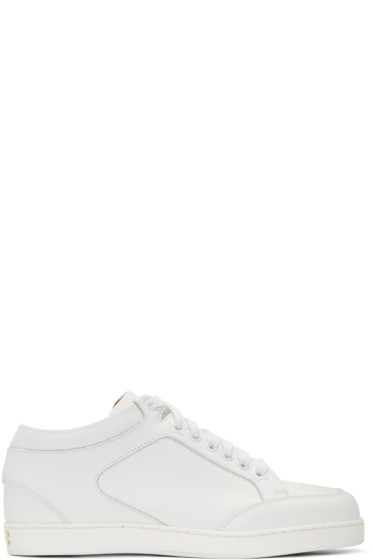 Jimmy Choo - White Miami Sneakers