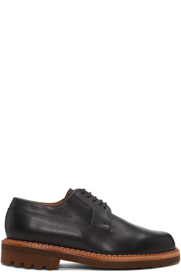 Robert Clergerie - Black Doc Derbys
