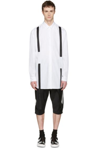D.Gnak by Kang.D - White Straps Shirt