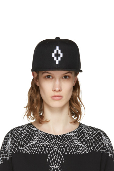 Marcelo Burlon County of Milan - Black Starter Edition Cruz Cap
