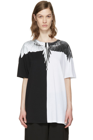 Marcelo Burlon County of Milan - Black & White Aike T-Shirt