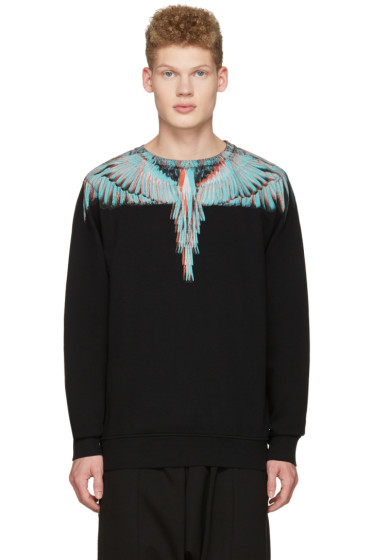 Marcelo Burlon County of Milan - Black Salvador Pullover