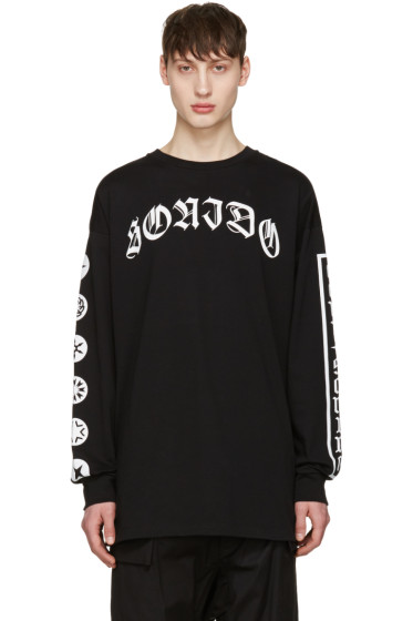 Marcelo Burlon County of Milan - Black Neron Long Sleeve T-Shirt
