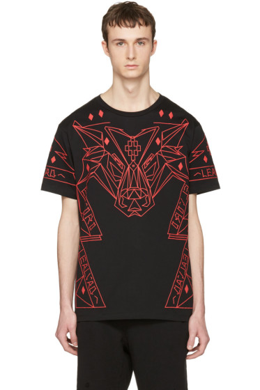 Marcelo Burlon County of Milan - Black Lamborghini T-Shirt