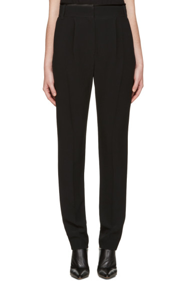 Haider Ackermann - Black Pleated Trousers