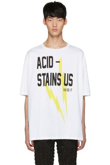 Haider Ackermann - Ivory 'Acid' T-Shirt