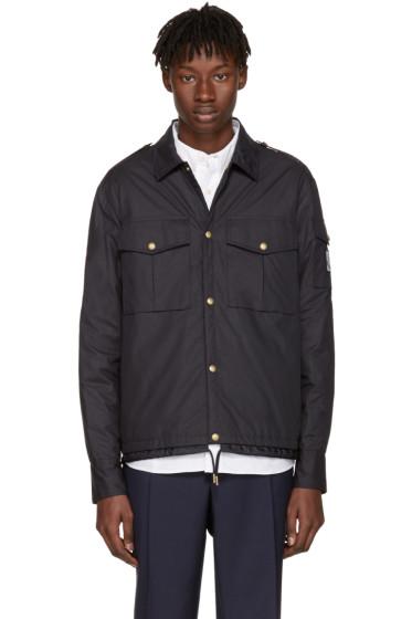 Moncler Gamme Bleu - Navy Short Military Jacket