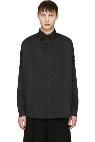 Hood by Air - Black 'Church Girl' Shirt