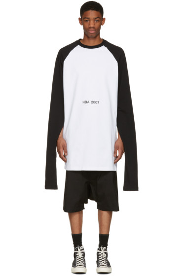 Hood by Air - White '2007' Oversized Overnight Pullover