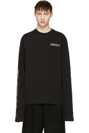Hood by Air - Black 'Wench Greatest Hits' T-Shirt