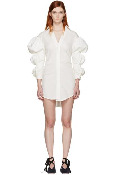 Jacquemus - Ecru 'La Robe Santon' Shirt Dress
