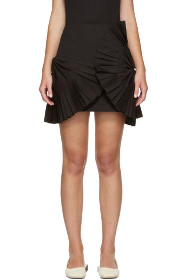 Jacquemus - Black 'La Mini Jupe Eventail Courte' Miniskirt