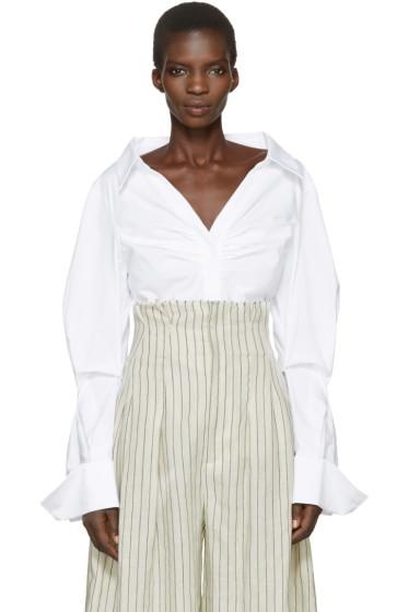 Jacquemus - White 'La Chemise Beauduc' Shirt