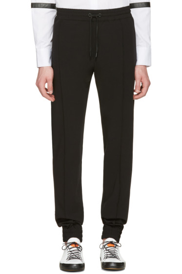 Pyer Moss - Black Classic Ribbed Trousers