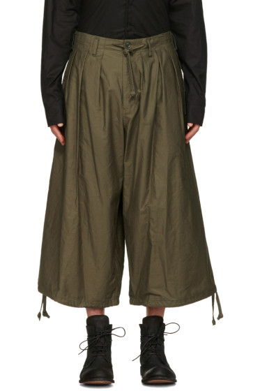 Yohji Yamamoto - Green Balloon Trousers