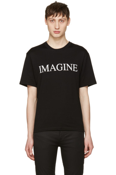Christian Dada - Black 'Imagine' T-Shirt