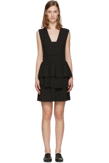 Isabel Marant Etoile - ブラック カリ フラウンス ドレス