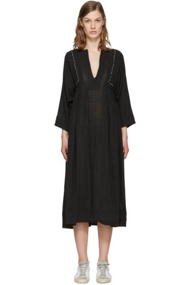 Isabel Marant Etoile - ブラック アライン ドレス