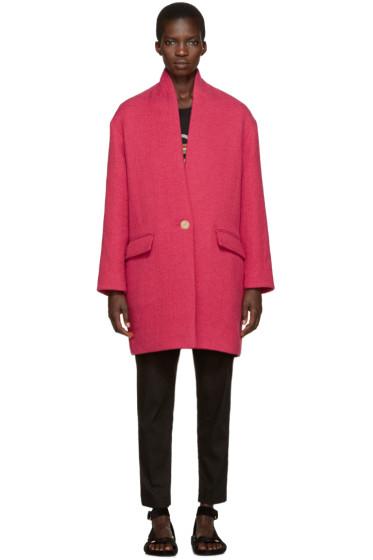 Isabel Marant Etoile - Pink Edilon Coat