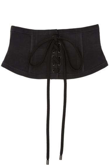 Isabel Marant - Black Herese Lace-Up Belt