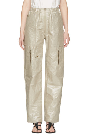 Isabel Marant - Silver Loafer Cargo Trousers