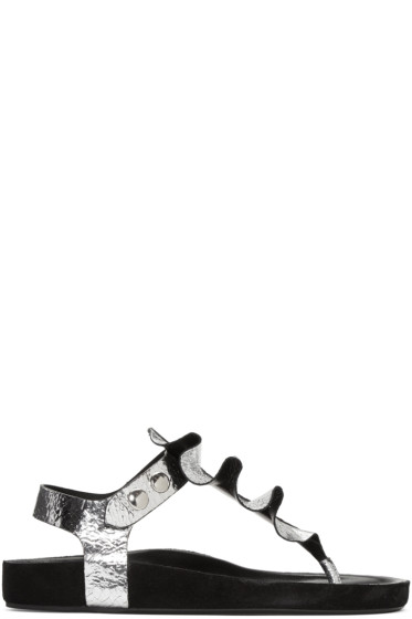 Isabel Marant - Silver Leakey Sandals