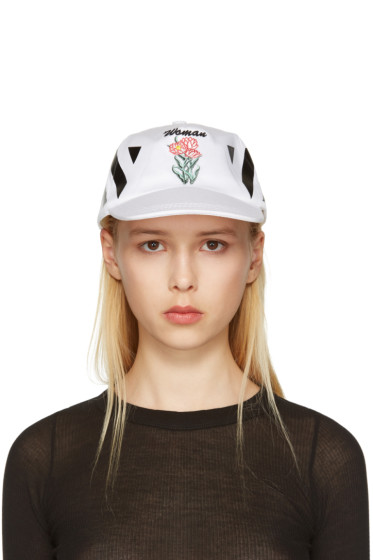 Off-White - White New Flower Cap