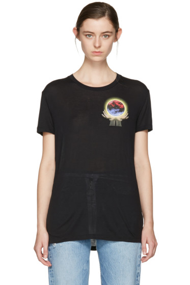 Off-White - Black Hand Sphere Over T-Shirt