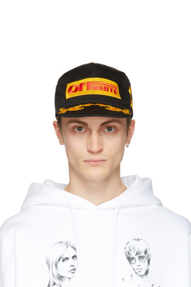 Off-White - Black 'Off 1st' Cap
