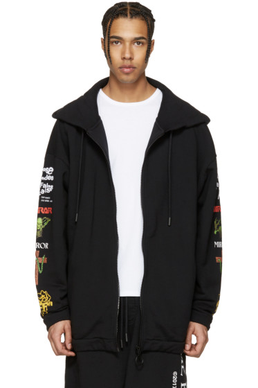 Off-White - Black Mix Rock Hoodie