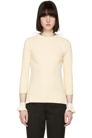 Toga - Beige Flare Sleeves Pullover